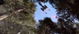 Новый геймплей Star Wars: Battlefront с истребителями