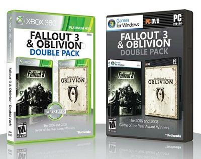 Fallout 3 и Oblivion Double Pack